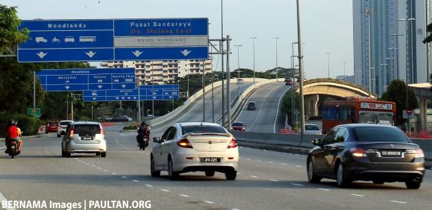 Johor road Bernama