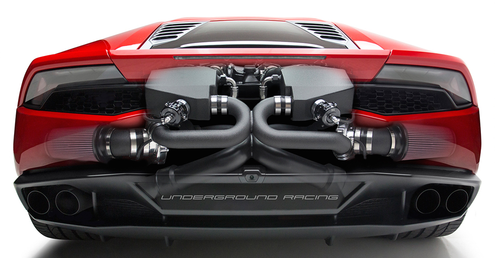 underground racing reveals twin turbo system for lamborghini huracan lp 610 4 over 2 200 whp. Black Bedroom Furniture Sets. Home Design Ideas