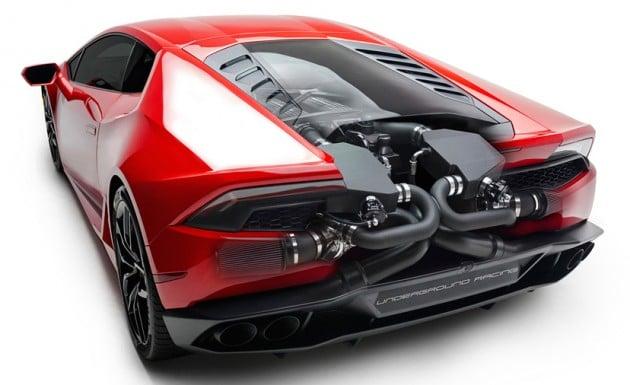 Lamborghini Huracan UR twin-turbo systems-3