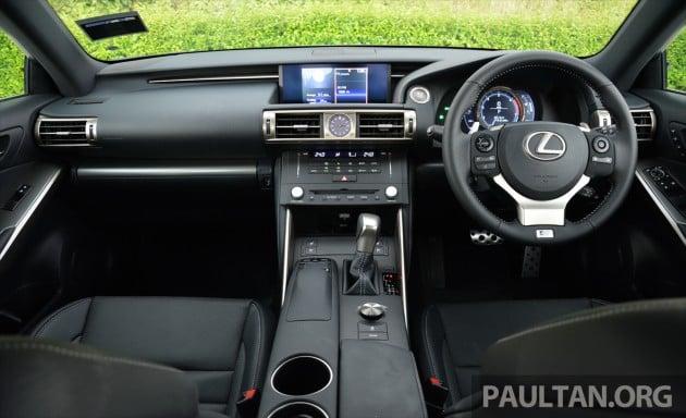 Lexus IS 200t Review 49
