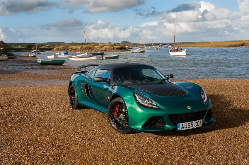 Lotus Exige Sport 350 introduced with added lightness Image #418497
