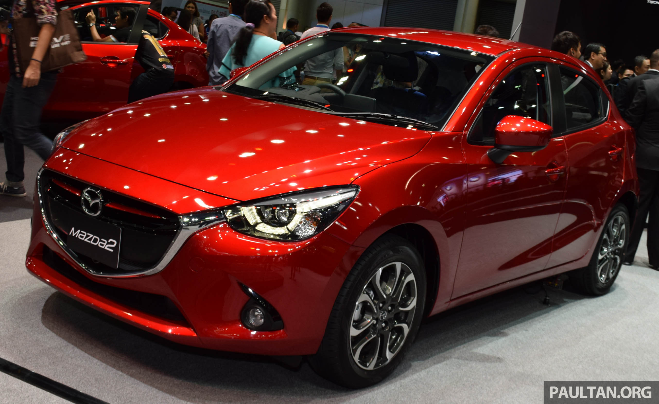 2016 mazda 2 with led lights now in m 39 sia rm91k. Black Bedroom Furniture Sets. Home Design Ideas