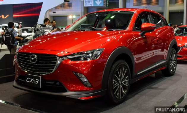 mazda cx 3 launched in thailand from rm99k 137k. Black Bedroom Furniture Sets. Home Design Ideas