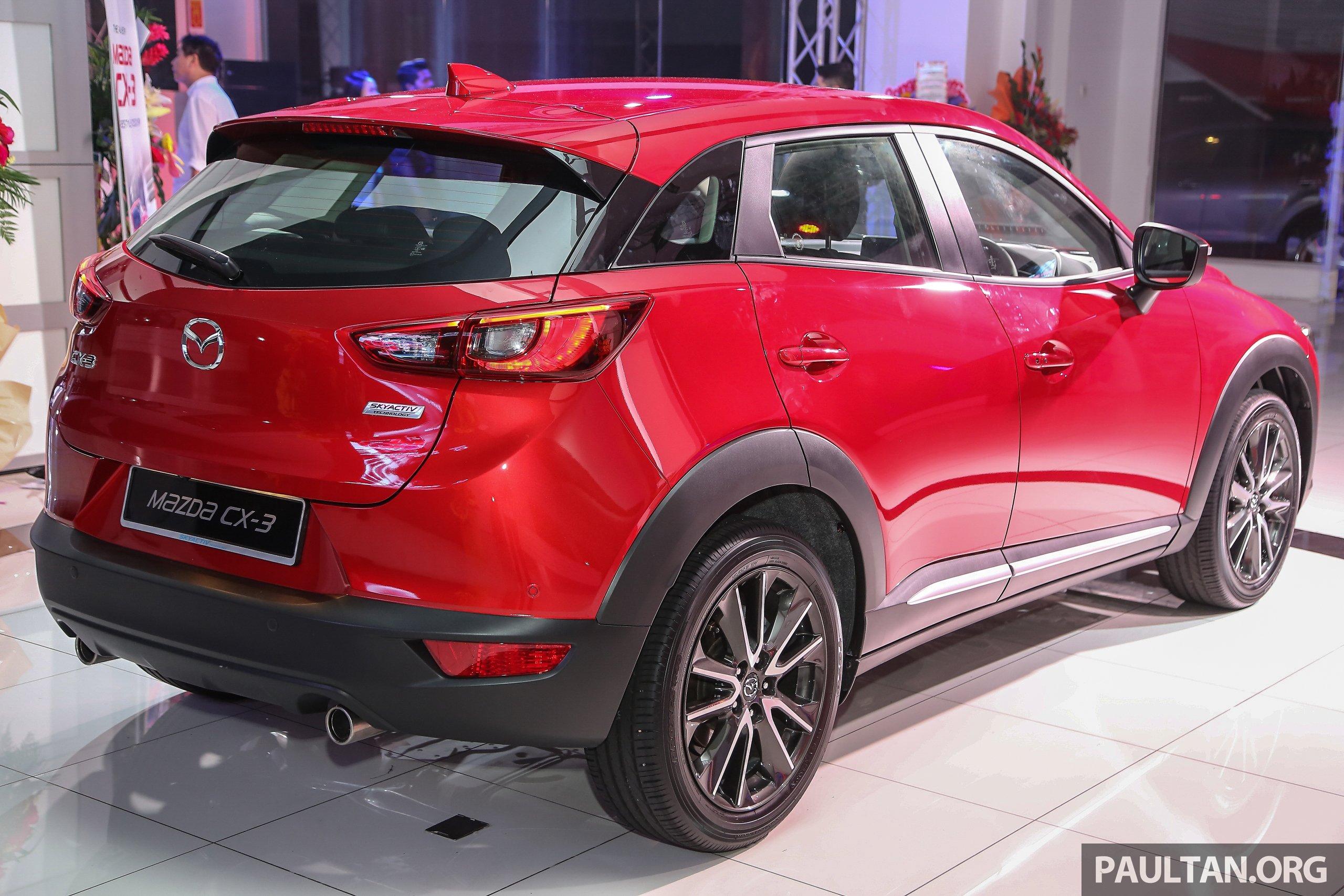 Mazda Cx 3 2 0 Launched In Malaysia Rm131 218 Paul Tan