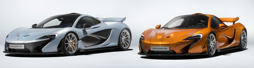 McLaren P1 production finally comes to an end Image #419048