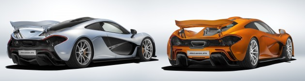 McLaren P1 final production 2