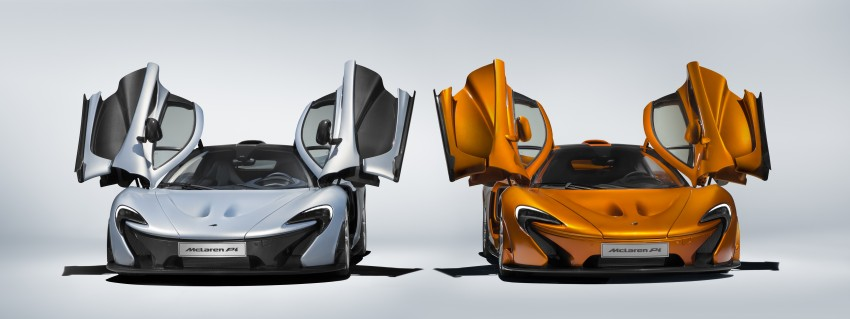 McLaren P1 production finally comes to an end Image #419050
