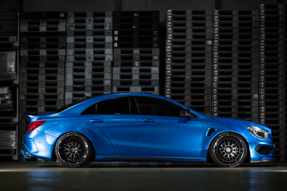 Mercedes Benz Cla Wide Body Kit By Fairy Design Image 418953