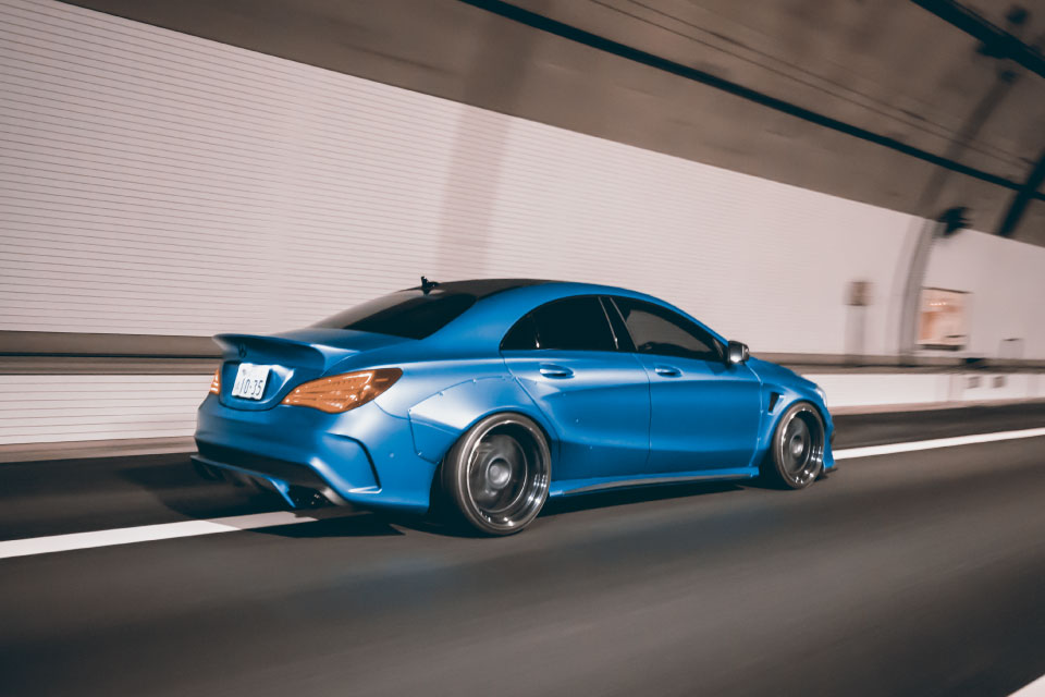 Mercedes Benz Cla Wide Body Kit By Fairy Design Image 418955