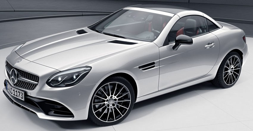 Mercedes-Benz SLC with optional Night Package Image #423003