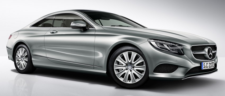 Mercedes-Benz S-Class Coupe gets new S 400 4Matic variant for a more affordable entry-point Image #418562