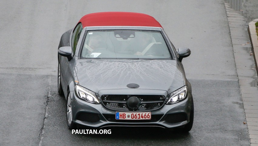 SPIED: Mercedes-Benz C-Class Cabriolet undisguised Image #420195