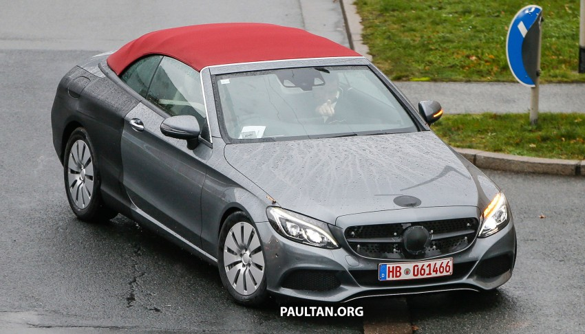 SPIED: Mercedes-Benz C-Class Cabriolet undisguised Image #420196