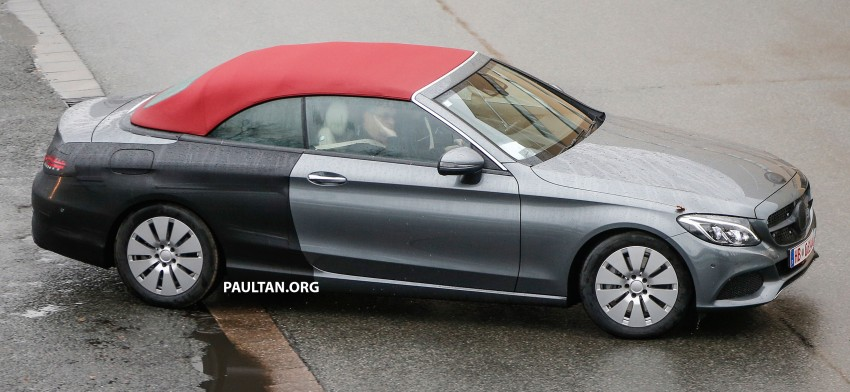 SPIED: Mercedes-Benz C-Class Cabriolet undisguised Image #420198