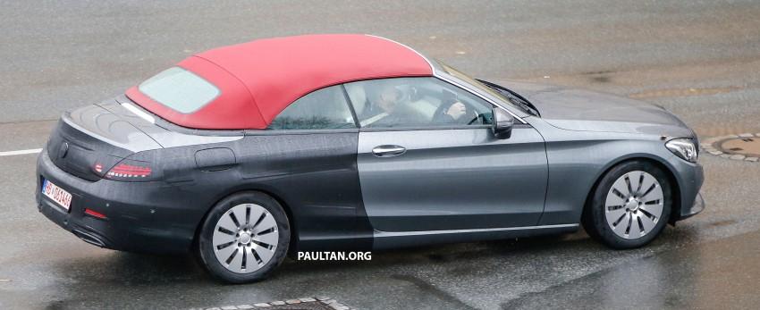 SPIED: Mercedes-Benz C-Class Cabriolet undisguised Image #420200