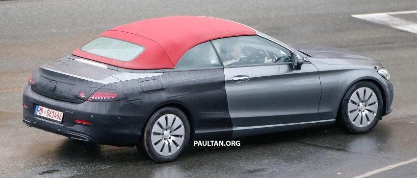 SPIED: Mercedes-Benz C-Class Cabriolet undisguised Image #420201