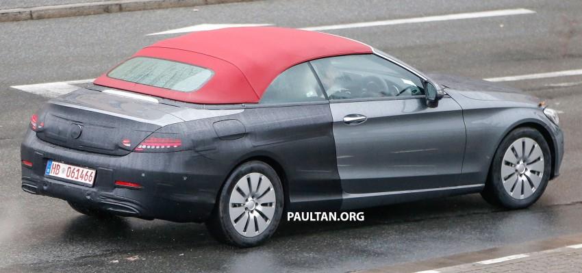SPIED: Mercedes-Benz C-Class Cabriolet undisguised Image #420202