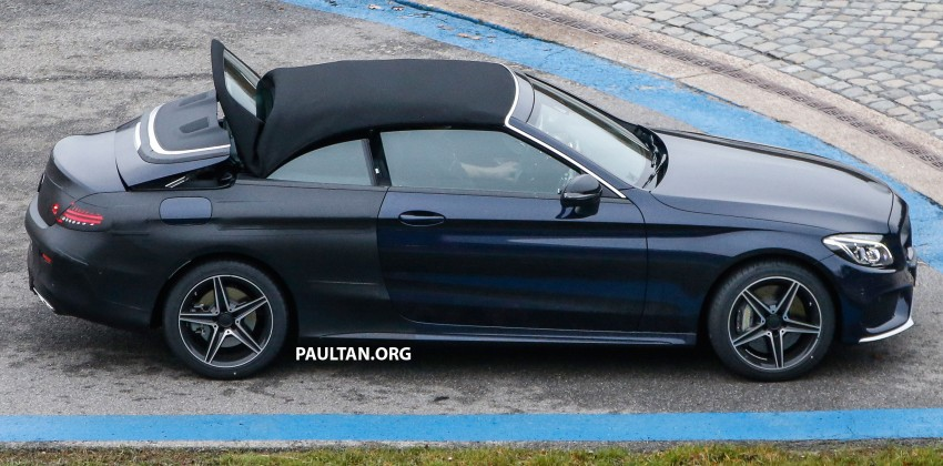 SPIED: Mercedes-Benz C-Class Cabriolet undisguised Image #420204