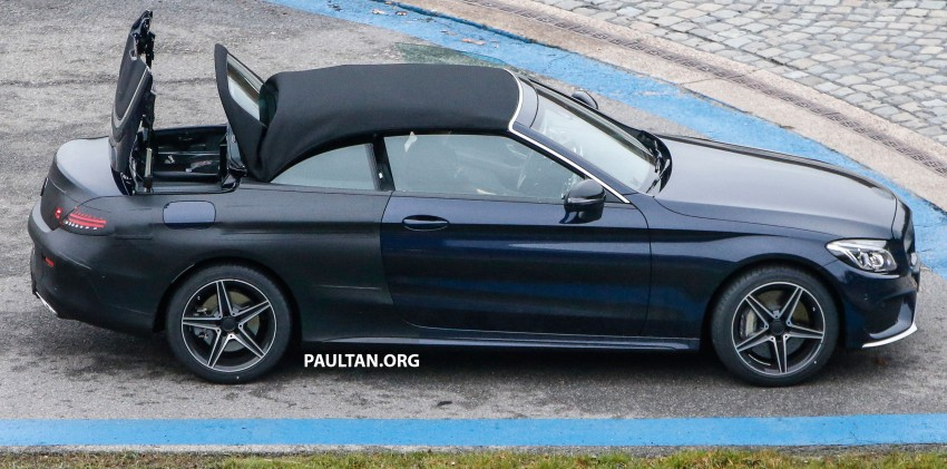 SPIED: Mercedes-Benz C-Class Cabriolet undisguised Image #420205
