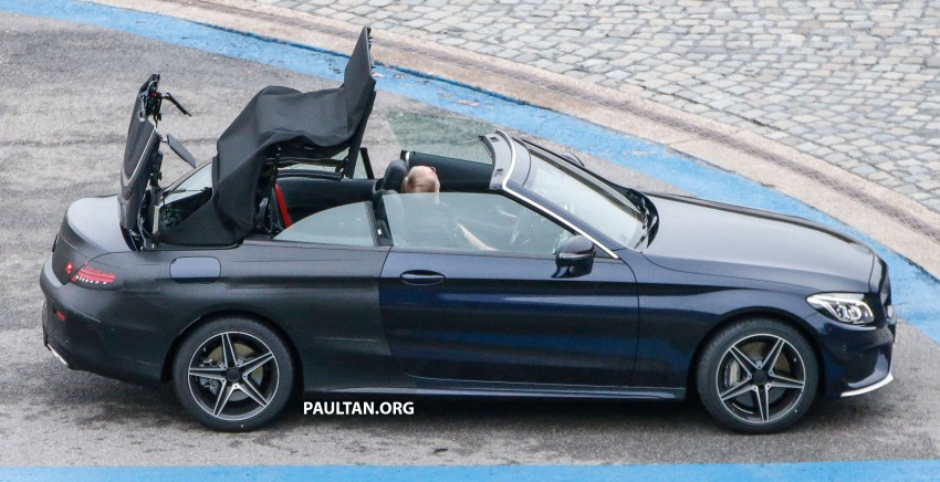SPIED: Mercedes-Benz C-Class Cabriolet undisguised Image #420207