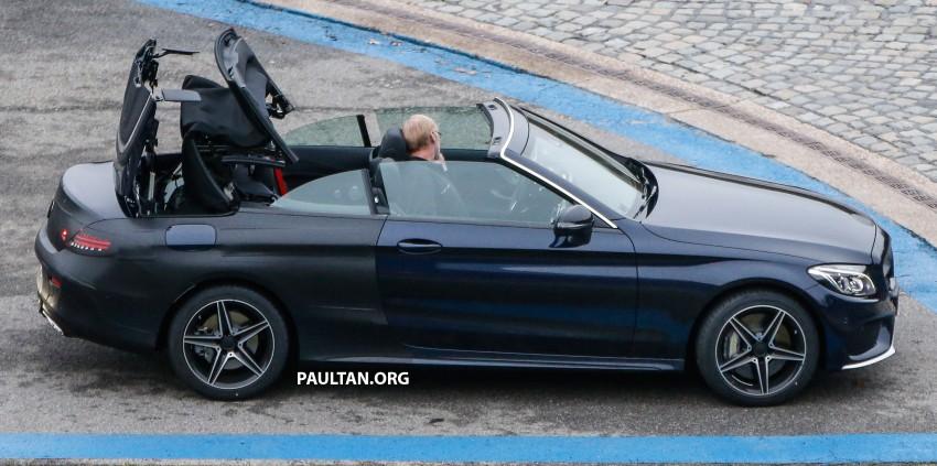 SPIED: Mercedes-Benz C-Class Cabriolet undisguised Image #420208