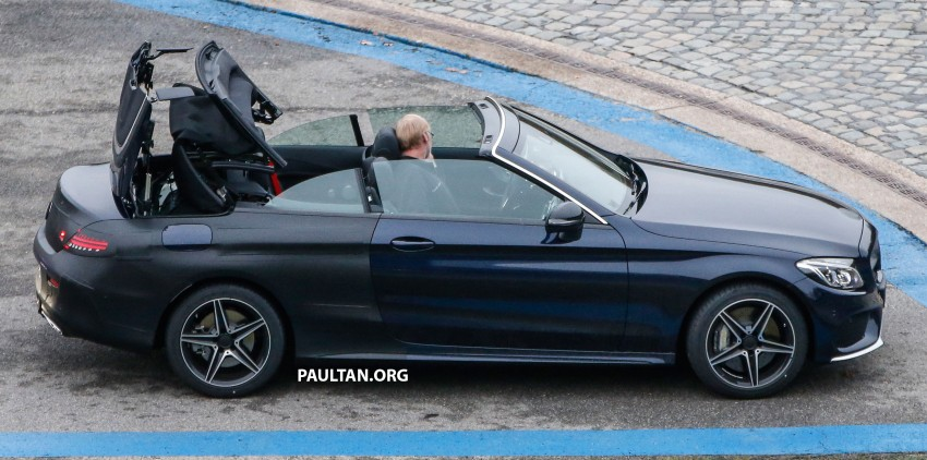 SPIED: Mercedes-Benz C-Class Cabriolet undisguised Image #420209