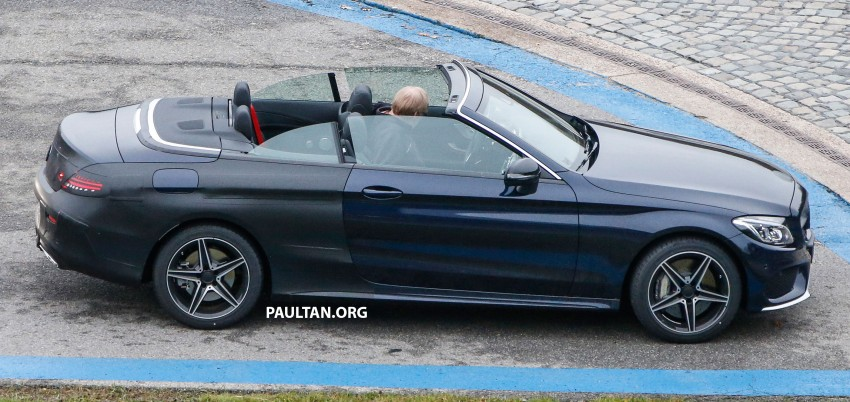 SPIED: Mercedes-Benz C-Class Cabriolet undisguised Image #420212