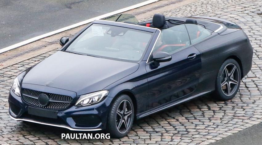 SPIED: Mercedes-Benz C-Class Cabriolet undisguised Image #420214