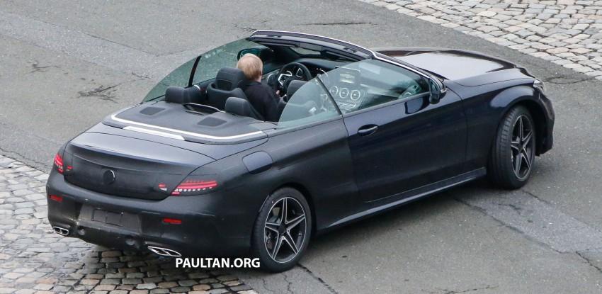 SPIED: Mercedes-Benz C-Class Cabriolet undisguised Image #420216