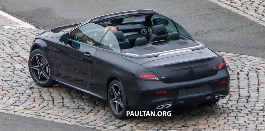 SPIED: Mercedes-Benz C-Class Cabriolet undisguised Image #420217