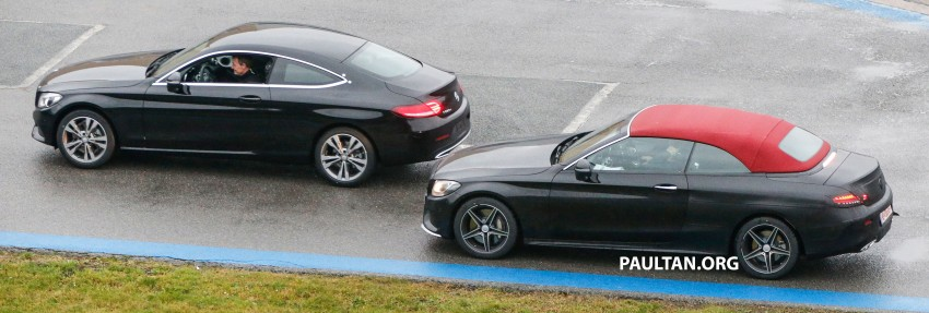 SPIED: Mercedes-Benz C-Class Cabriolet undisguised Image #420221