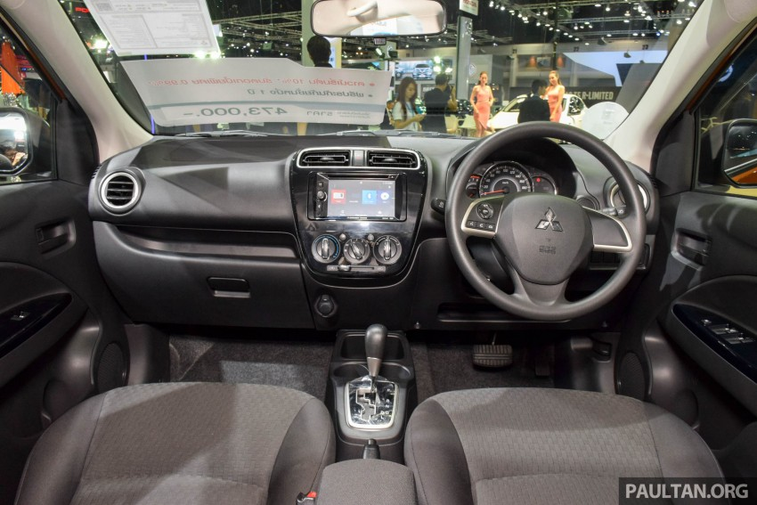 Mitsubishi Mirage facelift goes high tech in Thailand Image #415571