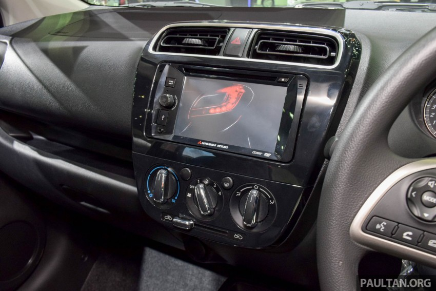 Mitsubishi Mirage facelift goes high tech in Thailand Image #415572