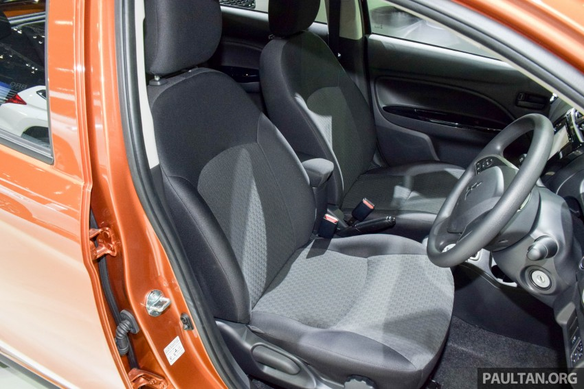 Mitsubishi Mirage facelift goes high tech in Thailand Image #415575