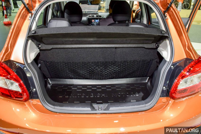 Mitsubishi Mirage facelift goes high tech in Thailand Image #415577