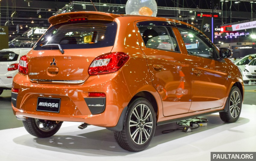 Mitsubishi Mirage facelift goes high tech in Thailand Image #415560
