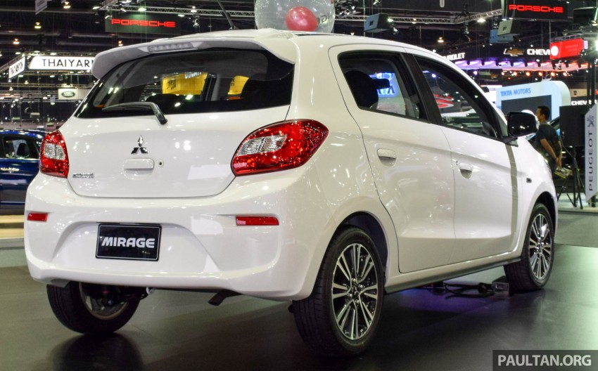 Mitsubishi Mirage facelift goes high tech in Thailand Image #415581