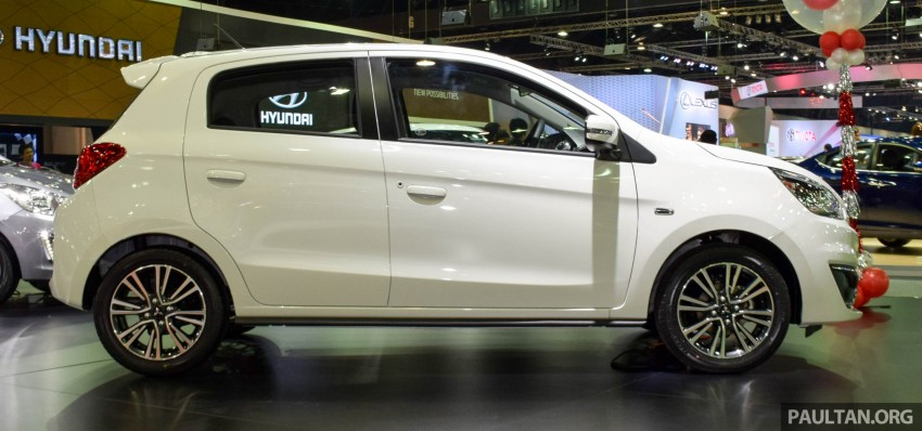 Mitsubishi Mirage facelift goes high tech in Thailand Image #415584