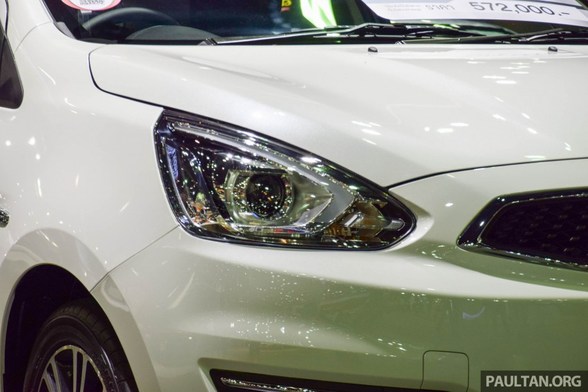 Mitsubishi Mirage facelift goes high tech in Thailand Image #415585