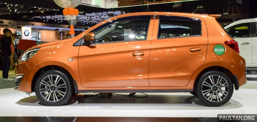 Mitsubishi Mirage facelift goes high tech in Thailand Image #415561