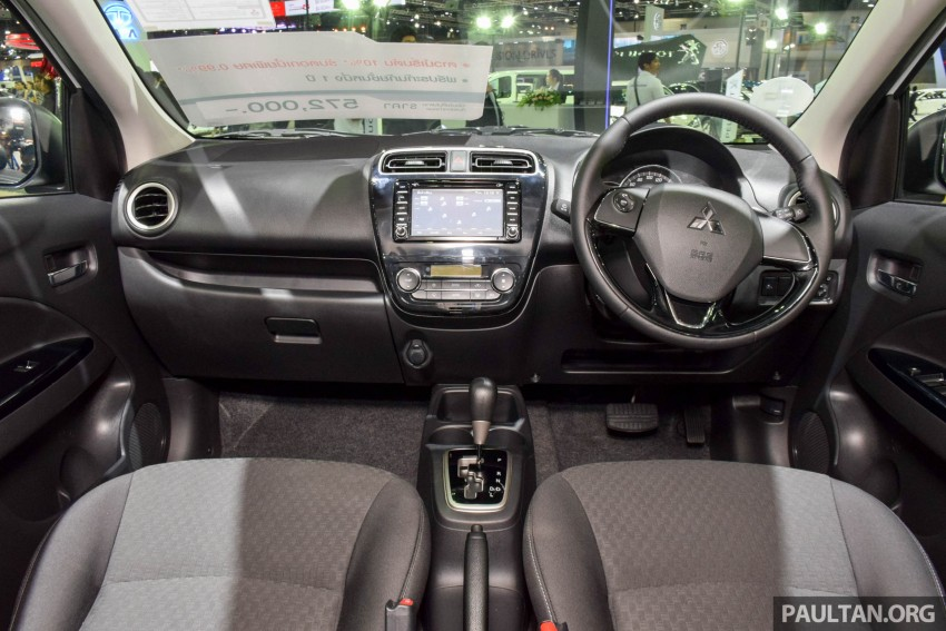 Mitsubishi Mirage facelift goes high tech in Thailand Image #415590