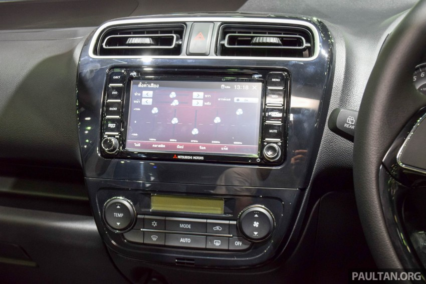 Mitsubishi Mirage facelift goes high tech in Thailand Image #415591
