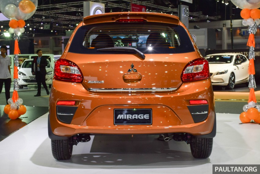 Mitsubishi Mirage facelift goes high tech in Thailand Image #415563