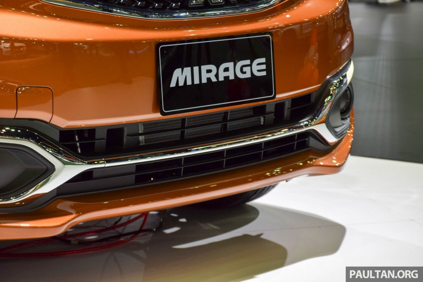 Mitsubishi Mirage facelift goes high tech in Thailand Image #415567
