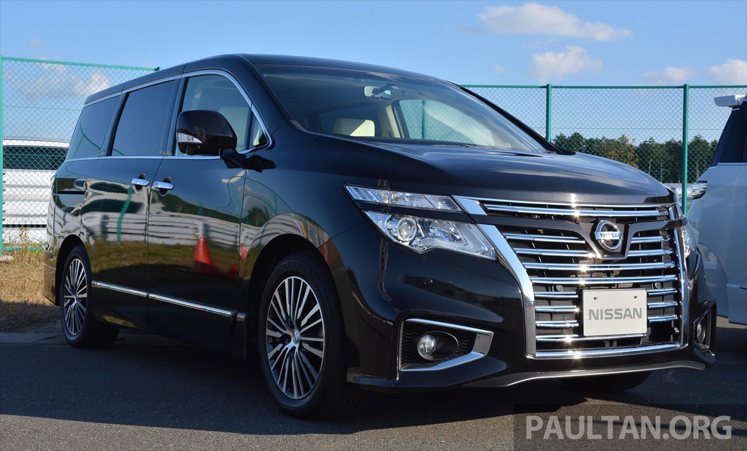 Nissan Elgrand VIP by Autech – 4-seater luxury MPV Image ...