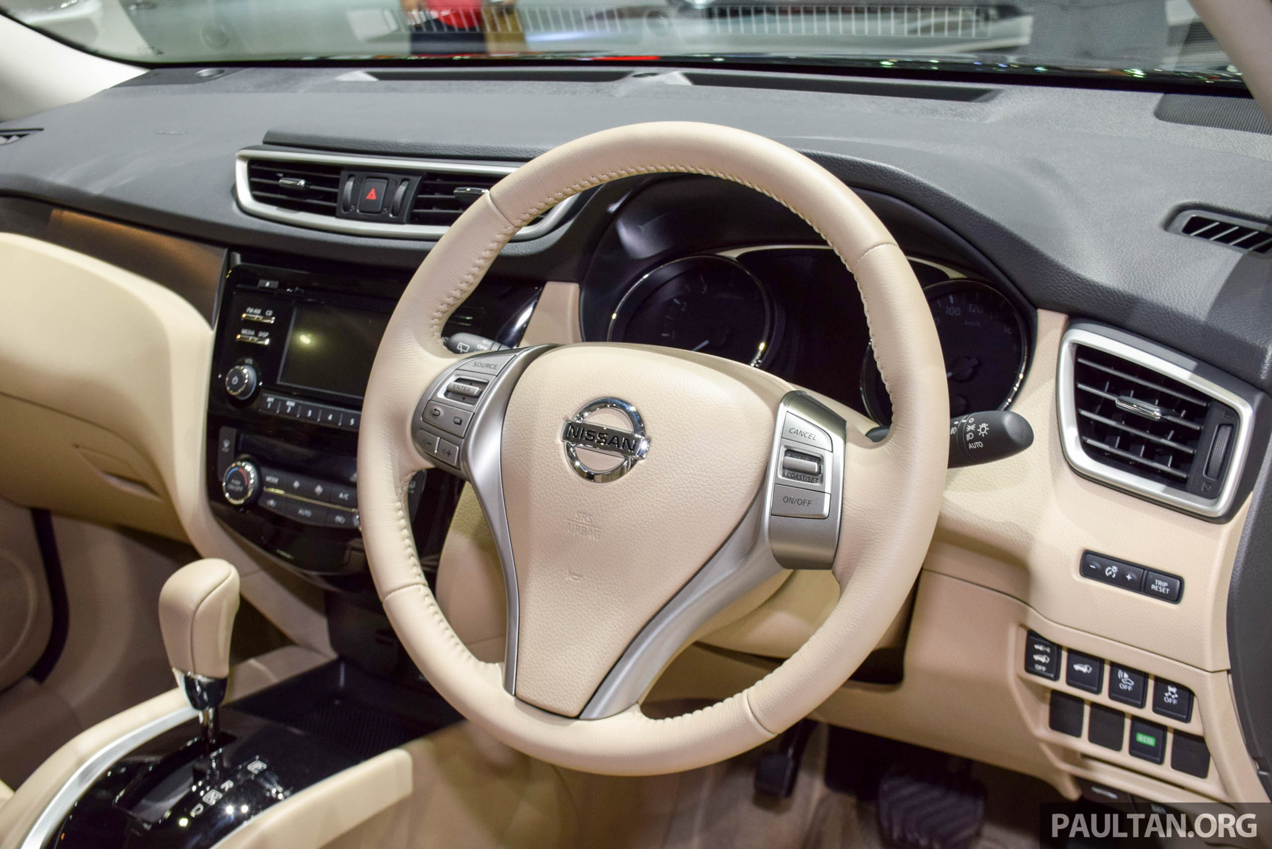 Nissan X Trail Hybrid Thai Expo 17 on 2015 interior home