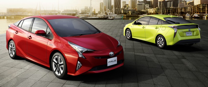 2016 Toyota Prius goes on sale in Japan – 40.8 km/l! Image #418037