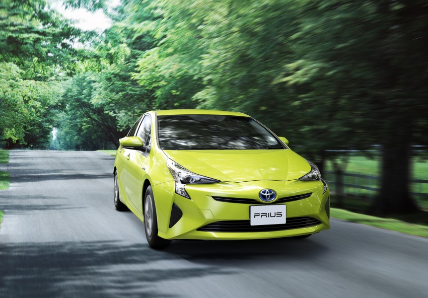 2016 Toyota Prius goes on sale in Japan – 40.8 km/l! Image #418040