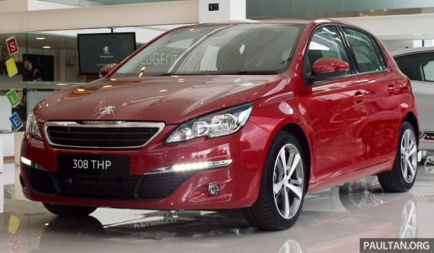 peugeot 308 thp active - confirmed at rm119,888
