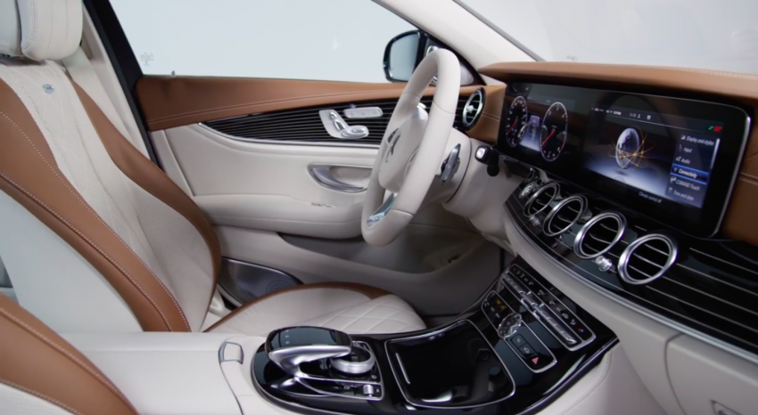W213 Mercedes-Benz E-Class – mini S-Class interior revealed ahead of January 11 debut Image #417762